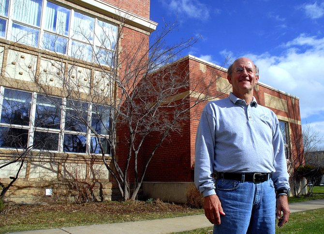 Nearly four decades as an educator is enough for Joel Sheridan, Moffat County School District assistant superintendent. Sheridan, above, will retire at the end of his contract June 30. He has served the School District for 16 years.