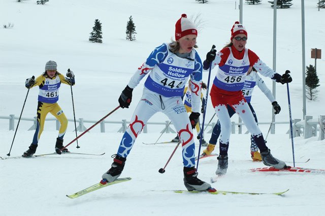 Steamboat Springs' Madison Ruppel finished 24th at a J3 girls 3K cross-country skate race at the Soldier Hollow, Utah, course from the 2002 Olympic Winter Games.