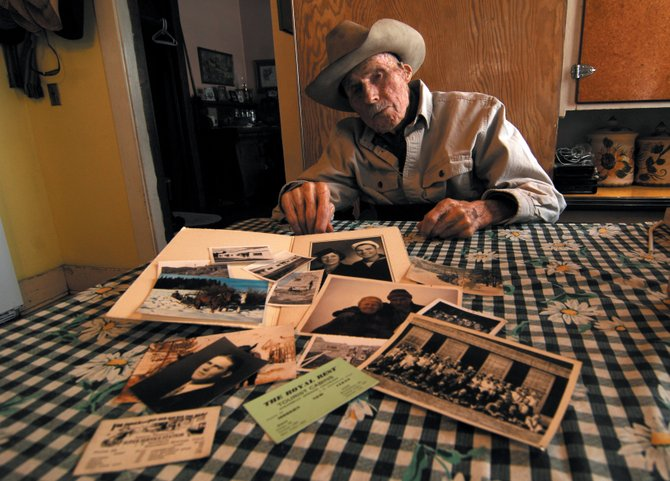 Steamboat Springs resident John Sandelin turns 98 today. The legacy of the Routt County native includes ranching, building and owning the Royal Rest Hotel, and working as a firefighter the day the Cabin Hotel burned to the ground.