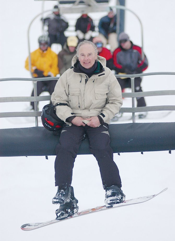 Harold Fischel was a skier for 40 years, but at the age of 60 he took up snowboarding and has been doing it for 13 years. At 73, Fischel is pretty sure he has taken over the title of being the oldest snowboarder at the Steamboat Ski Area.