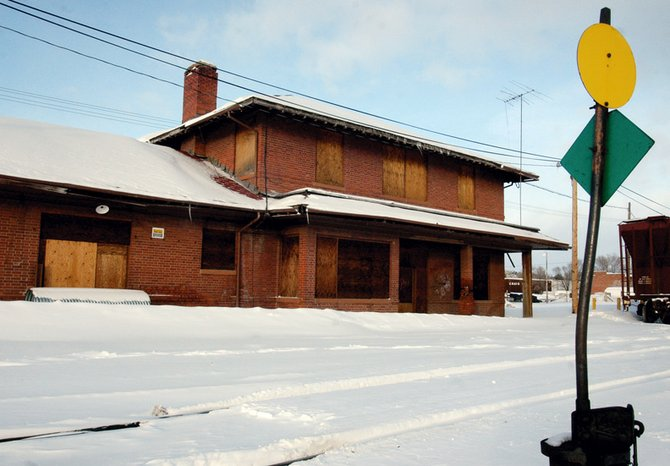 The Community Foundation of Northwest Colorado, with help from Colorado Preservation, Inc., is trying to renovate the historic train depot at the south end of Yampa Avenue.  The building was built in 1917 as the final stop for the Moffat rail line and is on Colorado's Most Endangered Places list.