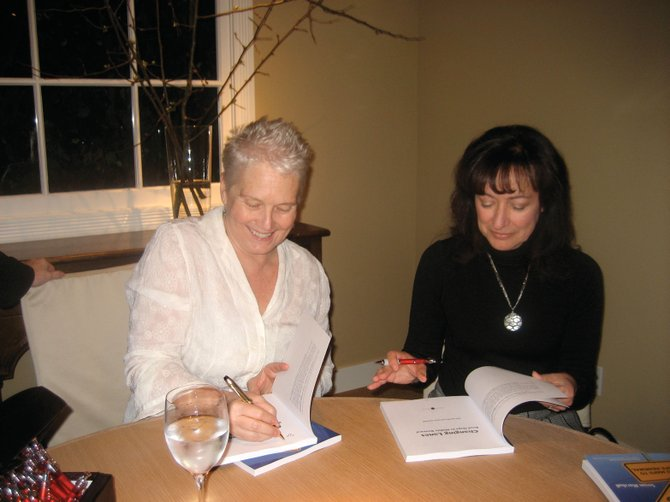"Resident Susan Marshall and co-author Jane Jelenko sign their book, ""Changing Lanes: Road Maps to Midlife Renewal."" They'll be at Off the Beaten Path from 3 to 5 p.m. Sunday to sign the book, which profiles life shifts from four Routt County residents."