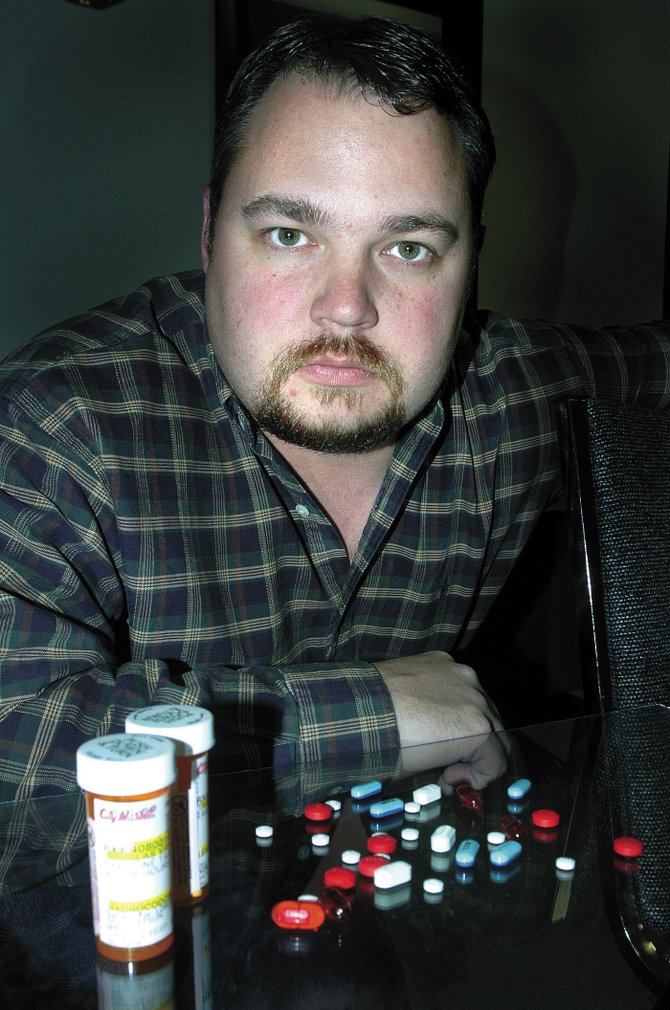 Chad Kiniston has resigned from his post as director of the Grand Futures Prevention Coalition's Moffat County branch, an agency designed to curb youth drug and alcohol use. He is shown above in an April 2007 photo. Kiniston said he and his family are moving to southeast Colorado for personal reasons.