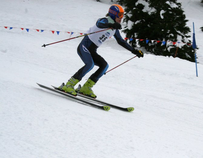 CMC Alpine Ski Team member Blake Barnes finished 18th at Friday's giant slalom race at the USCSA Western Regional Championships in McCall, Idaho, to help the men's team qualify for the upcoming USCSA National Championships in Maine.