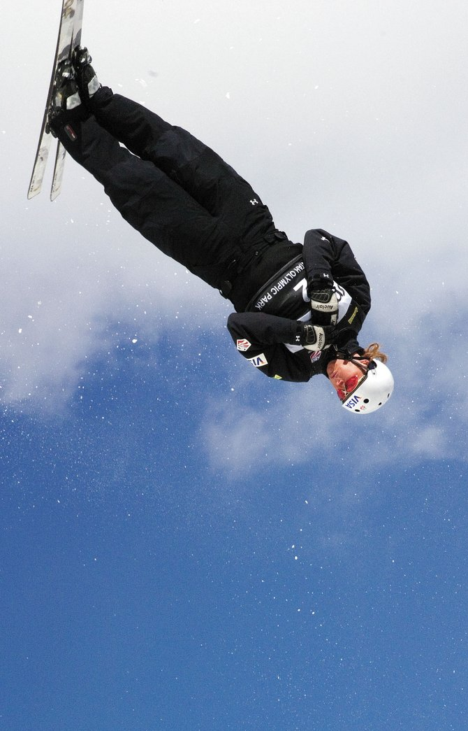 Former Steamboat skier Ryan St. Onge won the aerials competition Thursday at the U.S. Freestyle Championships at Utah Olympic Park in Park City, Utah.