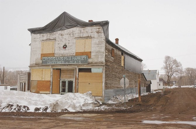Crossan's M&A Market building in Yampa has been added to Routt County's list of historic places. The town of Yampa is hoping to restore the building.