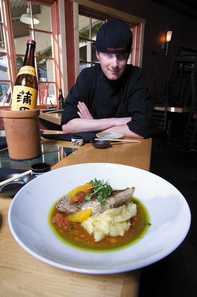 Saketumi chef Kyle Bartholomew
