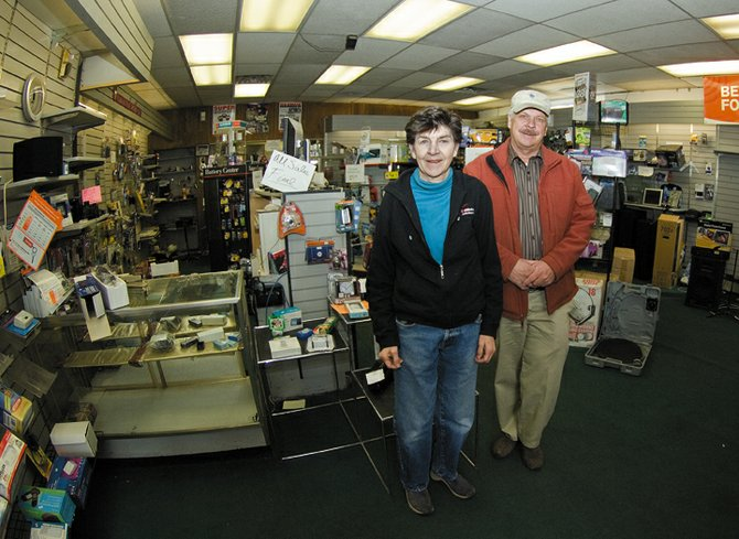 Maureen and Dan Hebard, owners of Alpine Electronics in downtown Steamboat Springs, will shut their doors for the final time this Saturday evening. The store has operated in downtown since 1989.