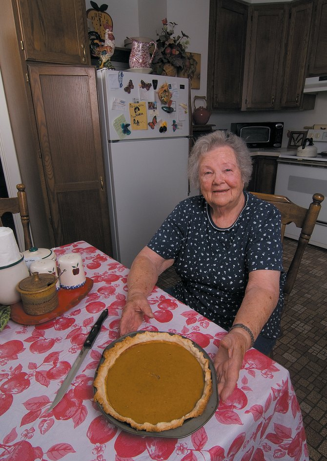 When it comes to Thanksgiving traditions, turkey and pumpkin pie are normally at the top of the list and Elaine Gay's pies are among the best in Routt County.  Gay is celebrating her 90th birthday 2 to 4:30 p.m. Sunday at Catamount.