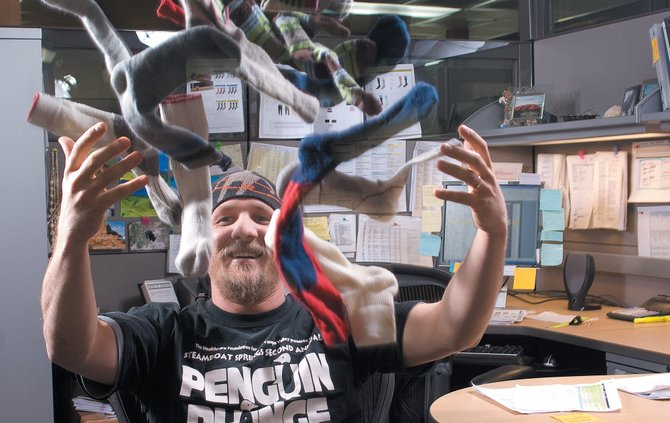 "Network engineer Jeremiah Baughman won the Pinnacle Award for 2007. The award, an employee recognition program at SmartWool, is just one of the reasons the Steamboat Springs-based company made Outside magazine's ""Best Places to Work"" list."
