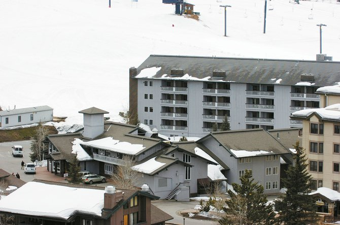 The redevelopers of Ski Time Square and Thunderhead Lodge plan to sell fixtures and furniture from the buildings before demolition.
