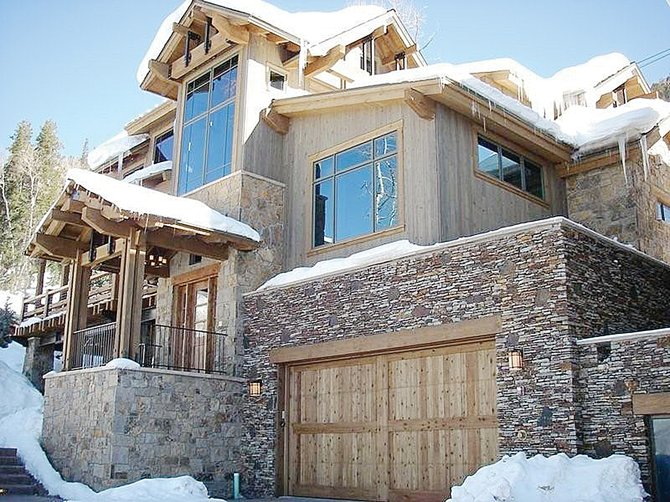 The duplex built by Mike Roberts of Habitat Construction on Ski Trail Lane is among the most exclusive homes in Steamboat and also is one of the most energy efficient.