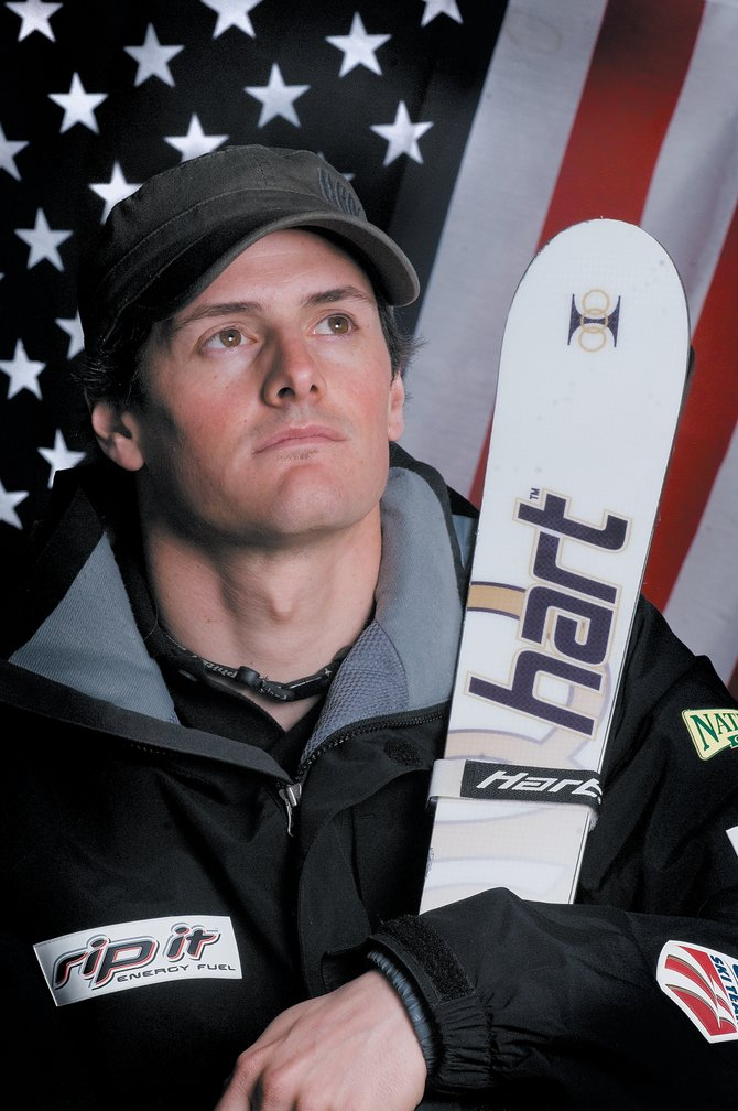 U.S. Freestyle skier Mike Morse is setting his sights on competing for the U.S. Olympic team in 2010 after rebounding from back and nerve injuries that kept him off the slopes for more than a year.