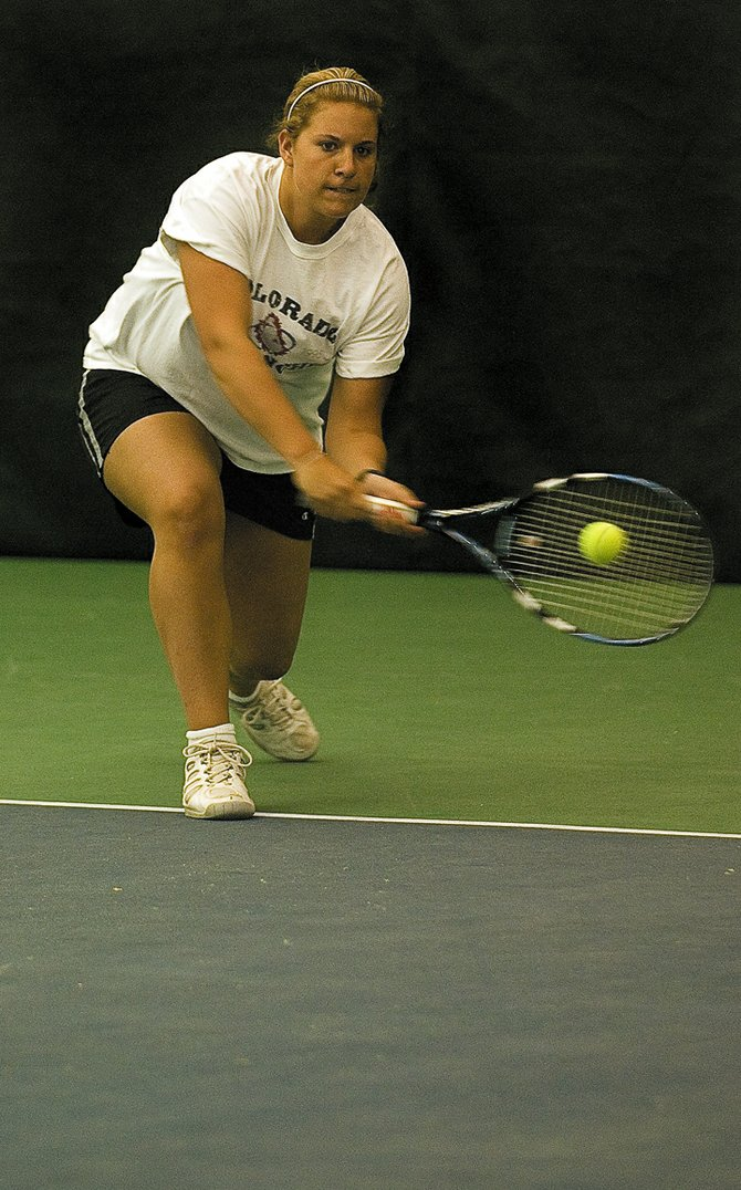 Four-time state qualifier Molly Weiss will return to Pueblo City Park this week for her final appearance at the state tennis tournament. Weiss, a senior, will be representing the Sailors in the No. 3 singles position.