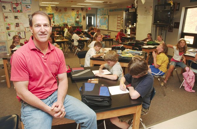 Steamboat Springs Middle School math and science teacher Matt Tredway has been named Steamboat's Teacher of the Year.