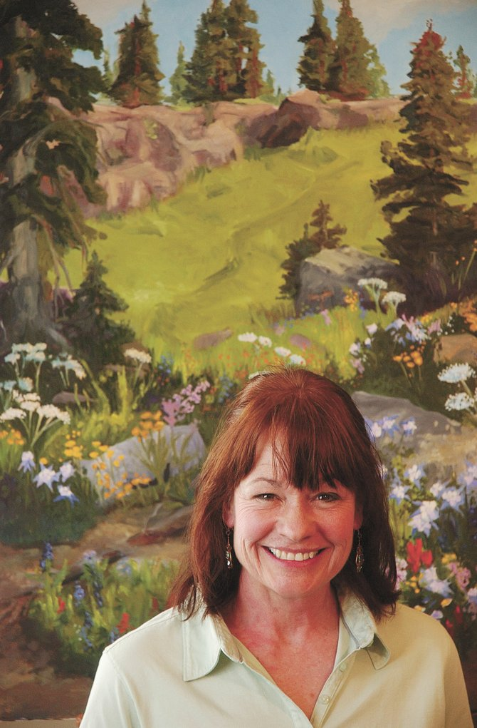 Sleeping Giant Gallery co-owner and painter Cully Kistler said she hopes to open Sleeping Giant Gallery&#39;s new location, Lincoln Avenue and Sixth Street, for the First Friday Art Walk in June.                               