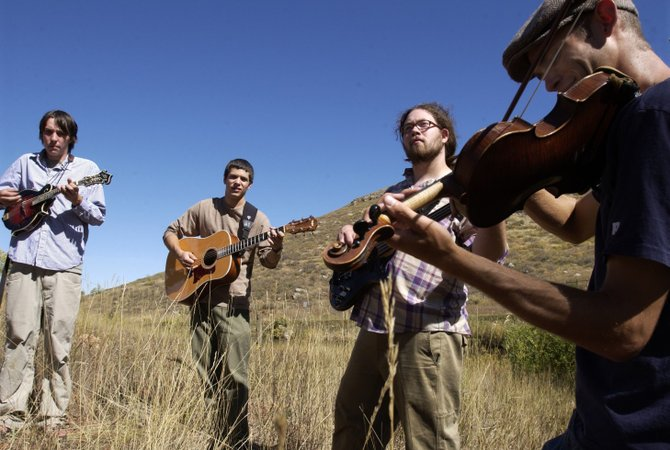 Fort Collins string band Head for the Hills plays Saturday at Mahogany Ridge before starting a summer tour that will take band members across the West and Southeast.
