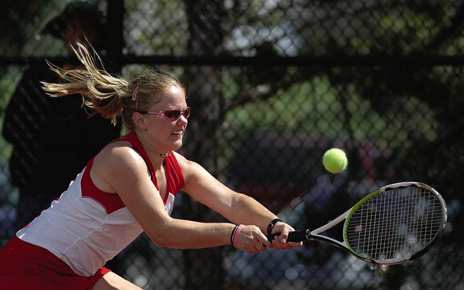 Steamboat Springs High School tennis player Shelby Reed played in the Intermountain 18-and-Under Memorial Day Championships in St. George, Utah. Reed finished third with doubles partner Shannon McNamara, of Vail, and sixth in singles.