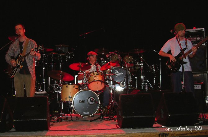 Rock and funk band Holden Young Trio plays at 10 p.m. Thursday at Old Town Pub.
