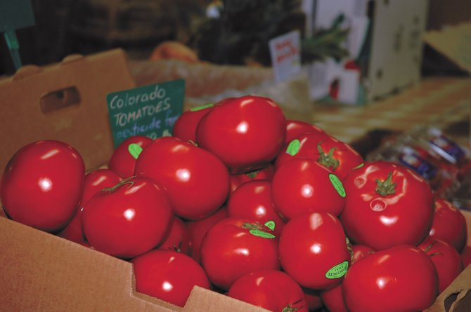 "The FDA has issued a nationwide warning that certain types of tomatoes have been linked with a salmonella outbreak. These tomatoes at Sweet Pea Market were purchased from Honeyacre Produce in Wiggins and are ""considered safe because they are still on the vine,"" said Honeyacre Produce Owner Cindy Shoemaker."