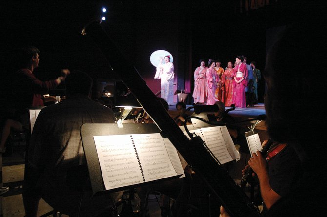 The Emerald City Orchestra performs during a dress rehearsal last year at Steamboat Springs High School.