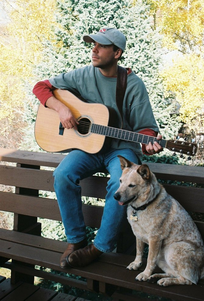 Singer-songwriter Trevor G. Potter performs at 5 p.m. today at Rex's American Grill & Bar.