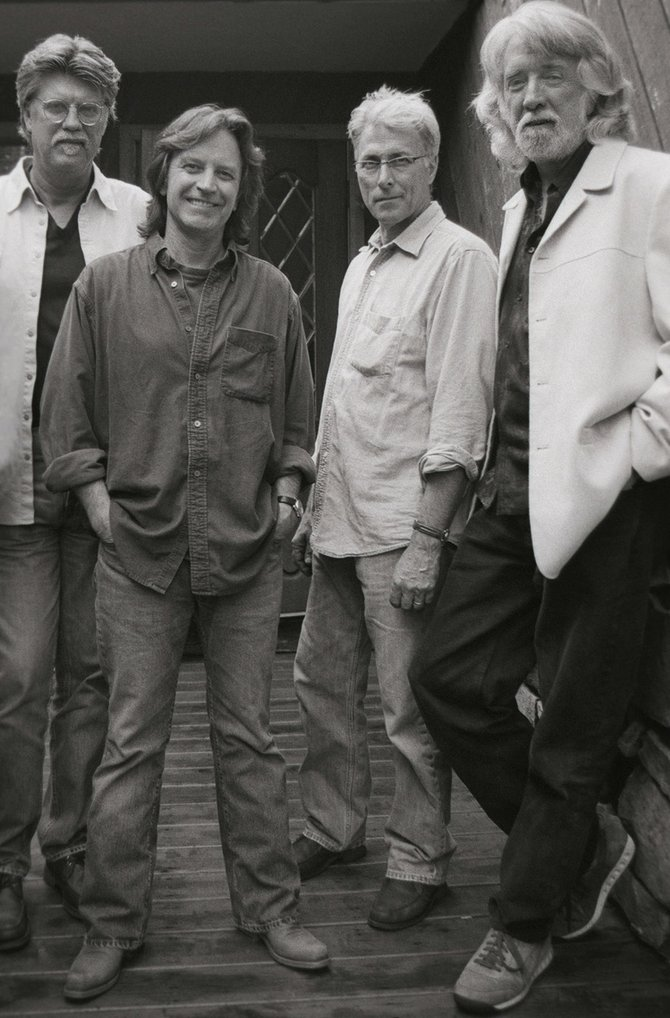 The Nitty Gritty Dirt Band performs at 8 p.m. today at the Strings Music Pavilion, off Pine Grove Road.