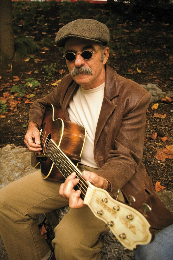 Blues musician Roy Book Binder performs at 7 p.m. Wednesday at the Depot Art Center in Steamboat Springs. Tickets are $15.