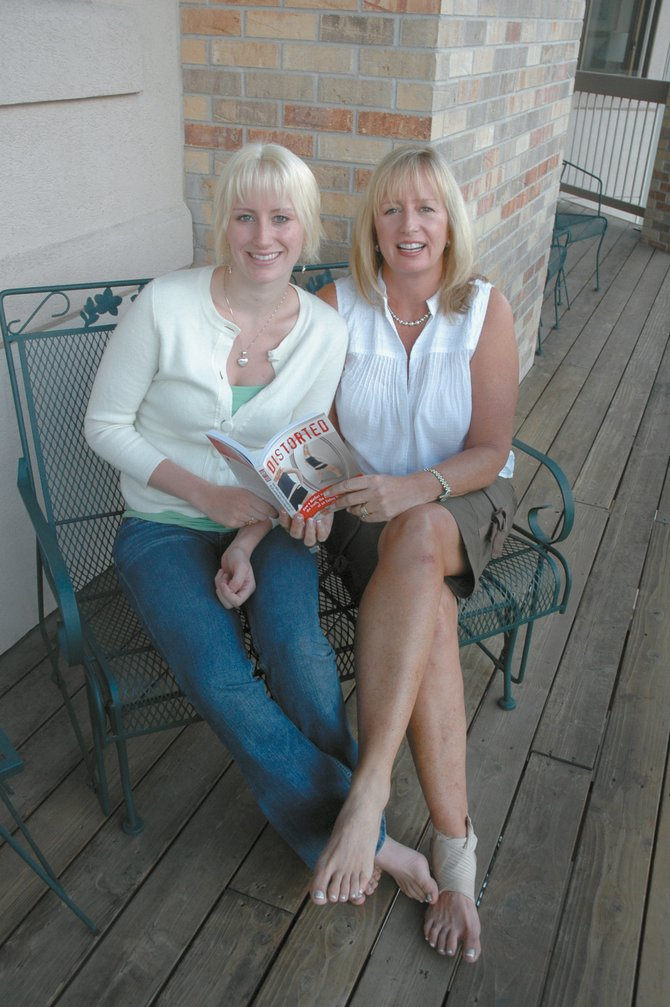 Taryn and Lorri Benson wrote a book together about Taryn's eating disorder. The residents of southern Florida live in Steamboat Springs during the summer and are speaking at Off the Beaten Path on Wednesday evening.