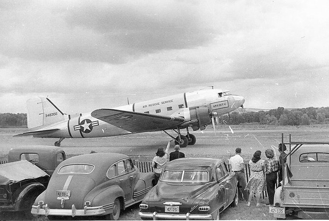 Local residents witnessed firsthand the latest in aircraft technology during the second annual Craig air show in June 1948 at the Craig Municipal Airport.