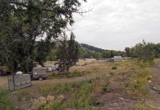 Evidence of utility work and the relocation of Spring Creek will become visible at the east end of Yampa Street this fall. However, the developers still must obtain a final development permit from the city, and vertical construction is months away.