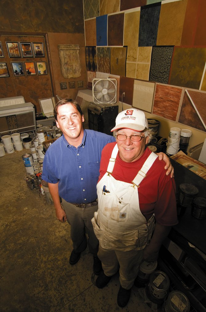 Ben Spiegel, owner of Spiegel & Son Painting, and his father, Delbert, have run a successful painting business since 1958.  Ben is a fourth-generation painter who opened his Steamboat Springs business in 1995.