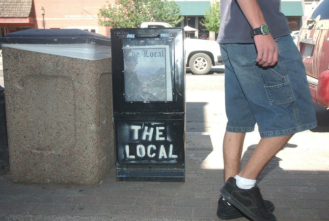 Owners and co-publishers Paulie Anderson and Scott Glackman have sold The Local to local Thomas Reuter Jr.