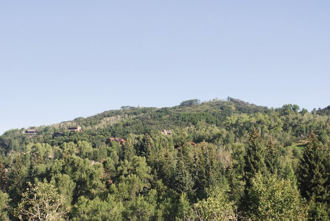 The new Boulder Ridge subdivision atop a hill overlookng the ski area and most of the valley is scheduled for completion in late October. Prices for the 18 lots begin at $975,000 and go up to $2.39 million.