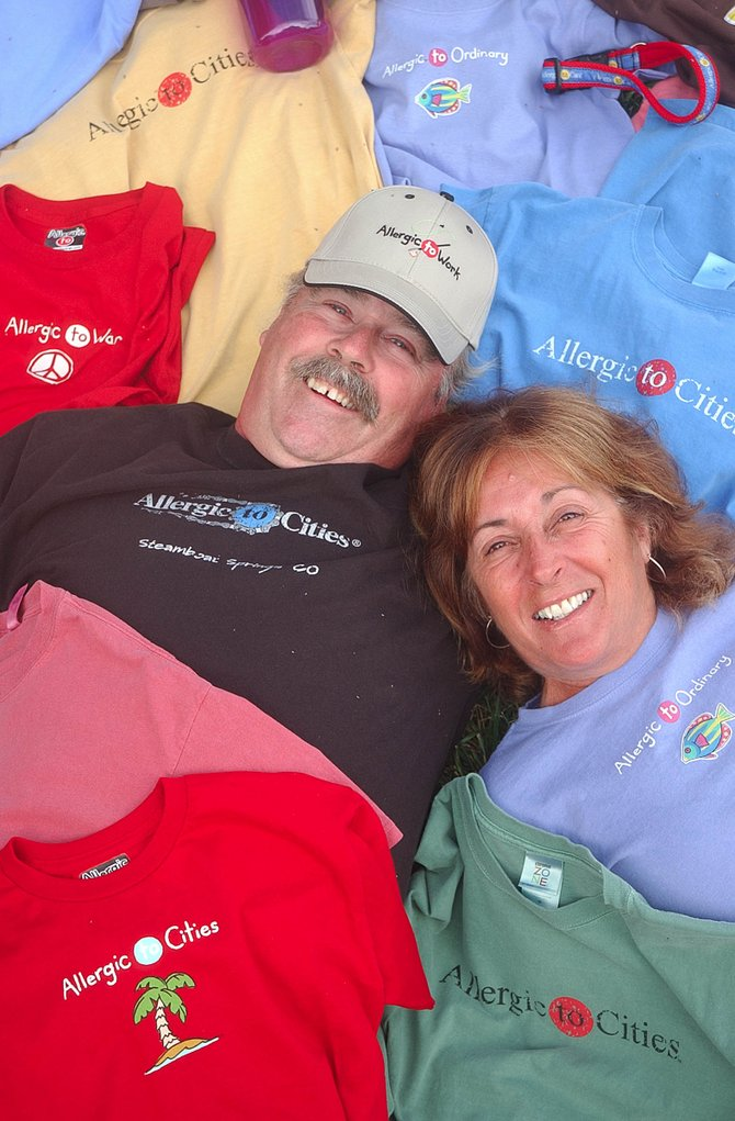 Longtime Steamboat Springs residents Rick and Suz Bear bought the Allergic to Cities brand three years ago.