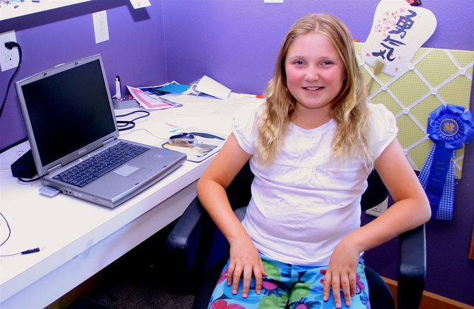 Melissa Requist, 10, will be published in the November issue of the international Montessori magazine Tomorrow's Child. Melissa has been enrolled in Montessori programs since she was 20 months old.