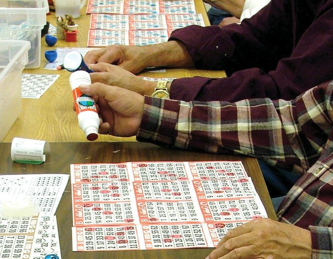 The Veterans of Foreign Wars Auxiliary will hold bingo at 1:30 p.m. today at the VFW, 419 E. Victory Way. The public is invited to attend.