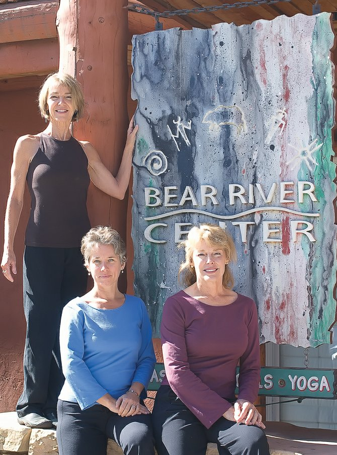 Jeanne Upbin, Nina Darlington and Patty Zimmer, owners of the new Yoga Center of Steamboat, will open their doors Sunday.  The new Yoga Center of Steamboat is located at the former location of Yoga Rx Studio.