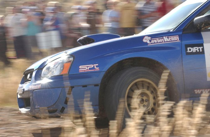 The 2008 Rally Colorado kicks off tonight with a rally car display at Sixth Street and Lincoln Avenue. Racing takes place all day Saturday and Sunday on county roads in the west part of the county.