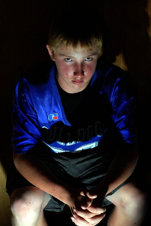 """Brentten """"Bubba"""" Ivers is a year-round athlete at Craig Middle School. The 14-year-old is following a path shown to him by his father, who died in May after a two-year battle with cancer."""