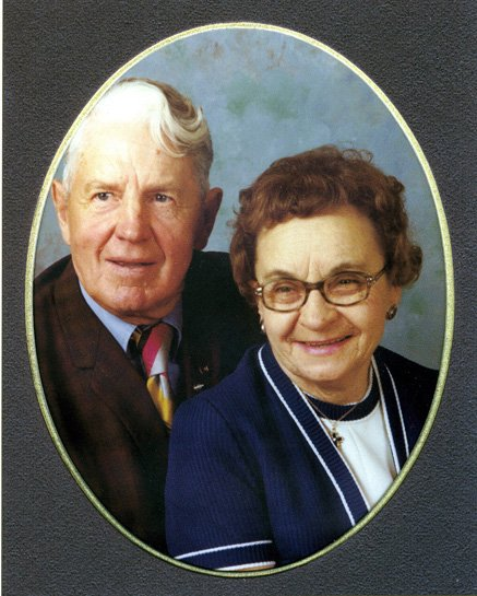 Pictured are Ersel and Betty Deakins. After they married, the Deakins lived the rest of their lives in Craig.