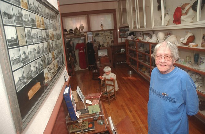 Hayden resident Jan Leslie has written two history books and began volunteering at the Hayden Heritage Center in 2005.