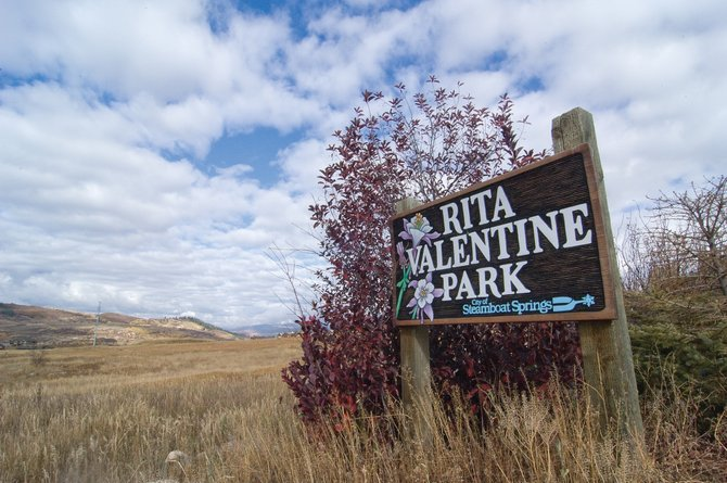 The city will host a public discussion of conceptual plans for Rita Valentine Park on Wednesday evening at the Steamboat Springs Community Center. The 75-acre park is between Anglers Drive and Hilltop Parkway.