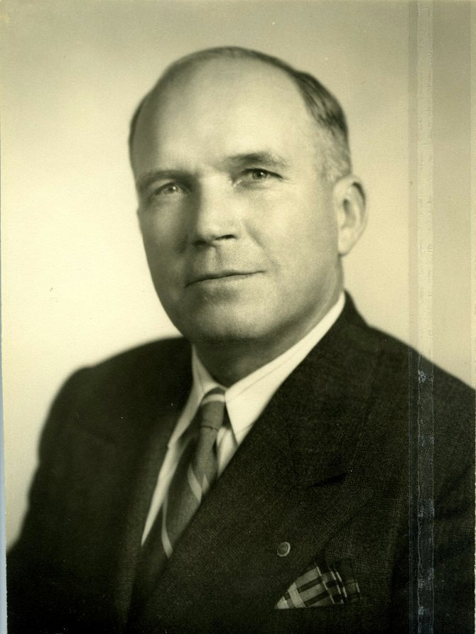 Portrait of Russell Coles from the American Legion Post No. 62 collection.