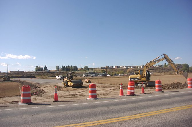 The soon-to-be-completed connection of Routt County Road 37 to U.S. Highway 40 will create easier access to Dry Creek Village. 