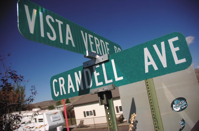 The town of Hayden will spend as much as $40,000 this coming year to make repairs to Vista Verde Drive.