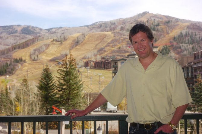 Local restaurateur Rex Brice, pictured Friday on a balcony at the Steamboat Grand Resort Hotel, was named the Business Person of the Year on Friday during the Steamboat Springs Chamber Resort Association&#39;s Navigator Awards.