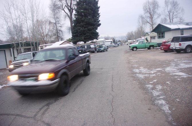 The Yampa Valley Housing Authority last year purchased the Fish Creek Mobile Home Park with the help of a loan from the city of Steamboat Springs.