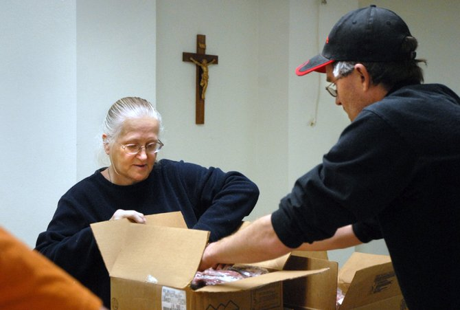 SHARE Craig, a local branch of a wider food distribution system, is celebrating its 10th year in Craig. Karen Gibson, Friendship United Methodist Church co-pastor, helped launch the program after learning about it in a community health class at Mesa State College.