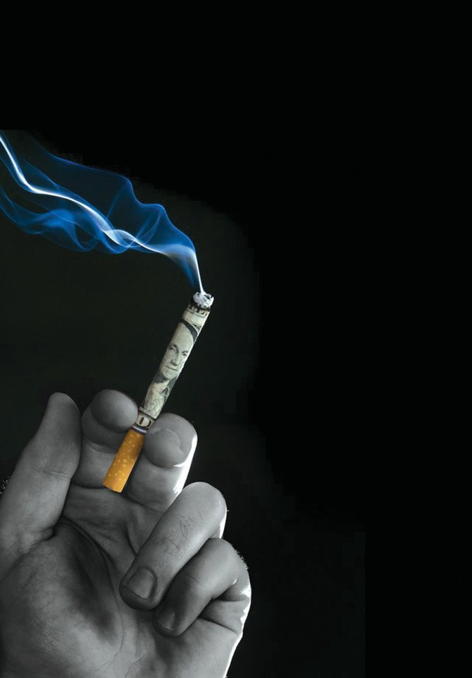 The American Cancer Society's Great American Smokeout is today.